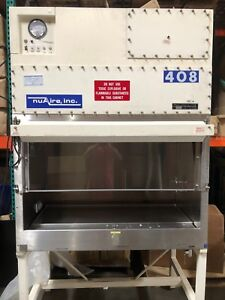 Nuaire Inc Biological Safety Cabinets 408 Nu 408fm 400 Tested And Working