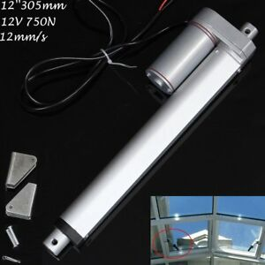 750n 12 Linear Actuator 12v Electric Motor For Solar Track Auto Door Lifting Oy