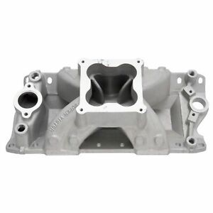 Edelbrock 2970 Super Victor 4500 23 Degree Intake Manifold Small block Chevy