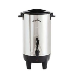 Coffee Pro 30 cup Percolating Urn Stainless Steel