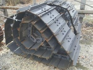 New Two Case 850g 850h Dozer Track Groups 38 Link Chains W 24 Or 20 Pads