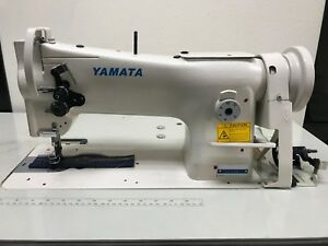 Yamata 206rb Walking Foot Sewing Machine With K d Table stand And Servo Motor