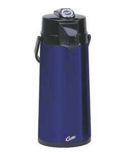 Curtis Tlxa 22 Thermopro Thermal Coffee Air Pot 2 2l Blue