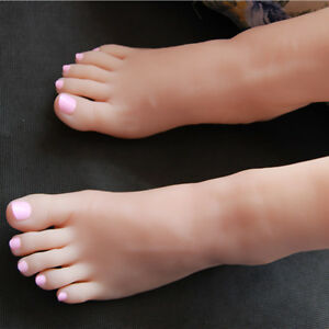 Girl Silicone Foot Model mannequin Display Shoes 32 A200