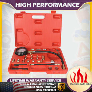 Hot 140 Psi Fuel Injection Pump Pressure Injector Tester Test Pressure Gauge Kit