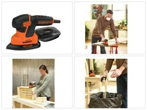 Mouse Black Decker Detail Sander 1 2 Amp New Electric Sandpaper pad BDEMS600 ne