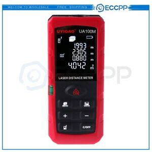 100m 328ft Ua 100m Hand held Laser Distance Meter Measuring Range For Ut395c