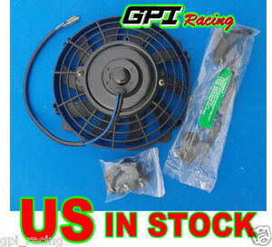 7 Inch Universal Electric Radiator Racing Cooling Fan M Ounting Kit