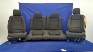 2013 2014 Ford Mustang Gt Coyote 5 0 Front Seat Bucket Coupe Set Cloth Hot Rod