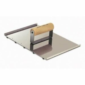 Kraft Tool Wheelchair Concrete Groover 8 X 10 1 2 X 1 4 Deep