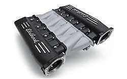 Edelbrock 71413 Sbc Cross Ram Intake Manifold Ls3 Fuel Injected Black