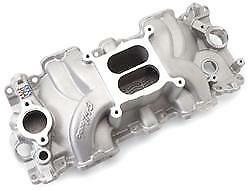 Edelbrock 7158 Performer Rpm Intake Manifold Chevy 348 409 W Series Square Bore