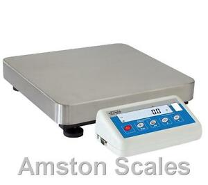 30000 X 1 Gram Digital Scale Balance Nist Pharmacy Laboratory Newtons Lbs Large