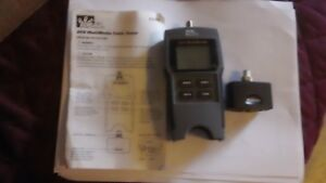 Ideal 33 856 Vdv Multimedia Cable Tester Internal Remote Storage