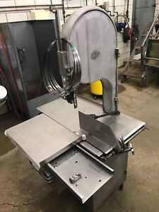 Biro 3334 Meat Band Saw Nsf Stainless Steel Nice