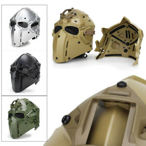 Helmet Airsoft CF CS Game Full Face Mask Tactical Protective Goggles