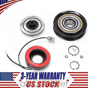 A C Compressor Clutch Kit Fit For Acura Mdx Tl Odyssey Pilot Pulley Coil Bearing