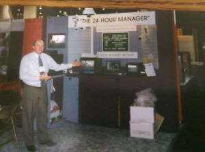 Trade Show Exhibit Booth Custom K28 Nimlok 10 x10 Mauve And Gray
