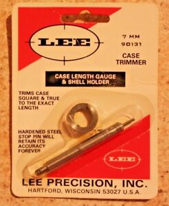 LEE Case Length Guage and Shell Holder 7MM