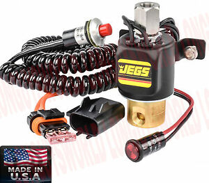 Drag Stage Launch Brass Roll Control Valve Line Lock Electric Brake Stop Kit