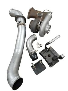 H s 6 4 Liter Single Turbo System For Ford 2008