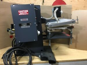 Pneumatic Heat Press Machine 12 x10 Platen Sal bee Lpc7000 T shirt Pedal Contol