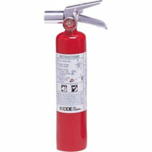 Fire Extinguisher W Wall Hook 2 5 Lb Bc Proplus 2 5 H Halotron I 466727k
