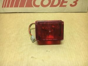 Kawasaki Kz 1000p Lapd Oem Tomar Waterproof Inter sector Replacement Strobe Red