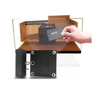 Rfid Hidden Cabinet Drawer Lock 3 Keys gun Safes stands Cabinets w Ac Adapter