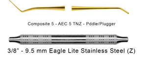 American Eagle Filling Composite 5 Paddle Plugger 1 0mm Aec5tnz