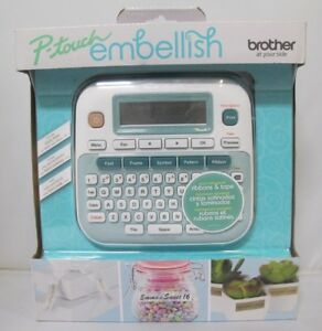 Brother P touch Embellish Ribbon Tape Printer