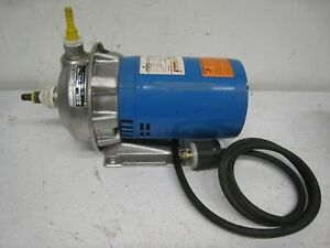 Goulds Npe 1x1 1 4 6 Stainless Pump 1st2c2f4