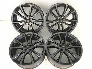 20 20 Inch Oem Factory Ford Explorer Gloss Gray Wheels Rims Set Of 4 10113