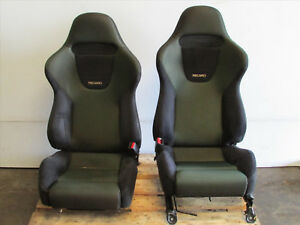 Jdm 1998 2002 Honda Accord Euro R Cl1 Oem Recaro Front Right Left Seats H22a