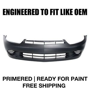 Fits 2003 2004 2005 Chevy Cavalier front Bumper Primered gm1000662 12335575