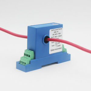 Hall Effect Current Transmitter Sensor Open Loop Current Transducer 1 In 1 Out