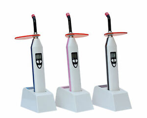 3 In 1 dual Color Wireless Led Dental Curing Light Lamp And Caries Detection