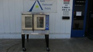 Baker s Pride 115v Cyclone Nat Gas Convection Oven Commercial 3217