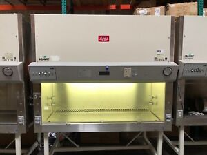 Nuaire Biological Safety Cabinets Class 2 Ii Type B2 Model Nu 430 600 With Stand