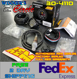 Aem 30 4110 Wideband Air fuel Uego Gauge Kit 52mm Electrical Bosch 4 9 Lsu