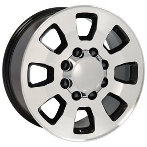 18 Gmc Chevy Sierra Silverado 2500 3500 Style Rims 8x180 Set Of 4 New 5501