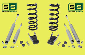 01 10 Ford Ranger 2wd 2 1 2 Lift Kit 4 Cyl Coil Springs rr Shackles 4 Shocks