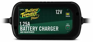 Super Smart Battery Tender Plus 12 Volt 1 25 Amp Battery Charger Maintainer