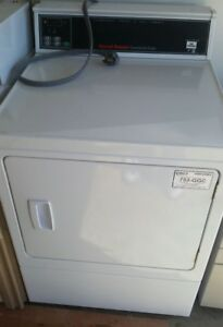 Speed Queen Commercial Dryer New Big Spacious Interior Electric Use