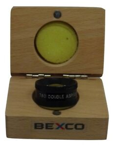 78d Double Aspheric Lens Optometry Equipment In Wood Case Best Quality Bexco