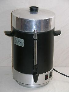 Regal Ware Automatic Coffee Urn 12 To 101 Cup Capacity k7001nf