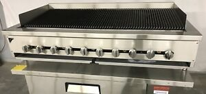 60 Gas Char Broiler Heavy Duty Charcoal Grill 5 Natural Or Propane Radiant
