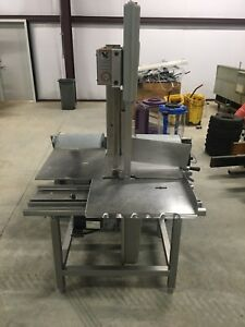 Hobart 6801 142 Meat Saw 3 Hp 220 3 Ph Commercial Butcher Beef Slicer 6614 Biro