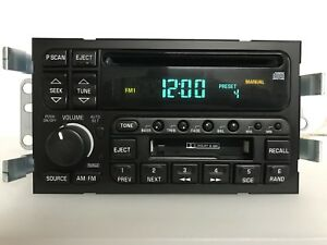 gm749 00 01 Buick Lesabre Radio Am Fm Cd Cassette Player 09389324