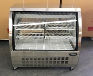 Deli Case New 48 Stainless Glass Show Case Refrigerator Cooler Display Bakery